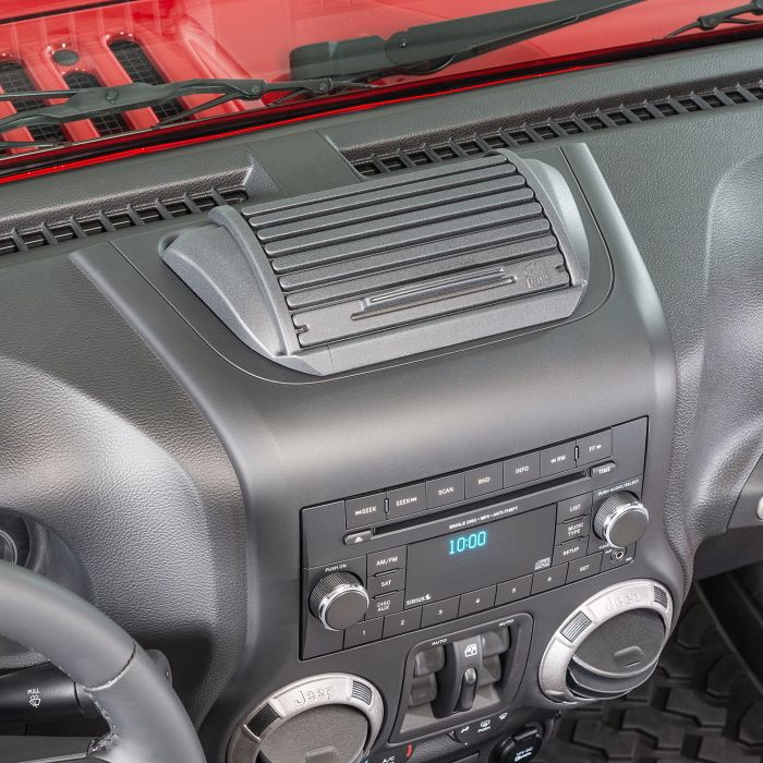 JKラングラー用 ダッシュボードに簡単取り付け 贈与 ジープ ラングラー Jeep Wrangler ジープJKラングラー おしゃれ ジープJKラングラーアンリミテッド カスタム パーツ VDP ダッシュコンソール ロールトップ 送料無料 コンソールボックス
