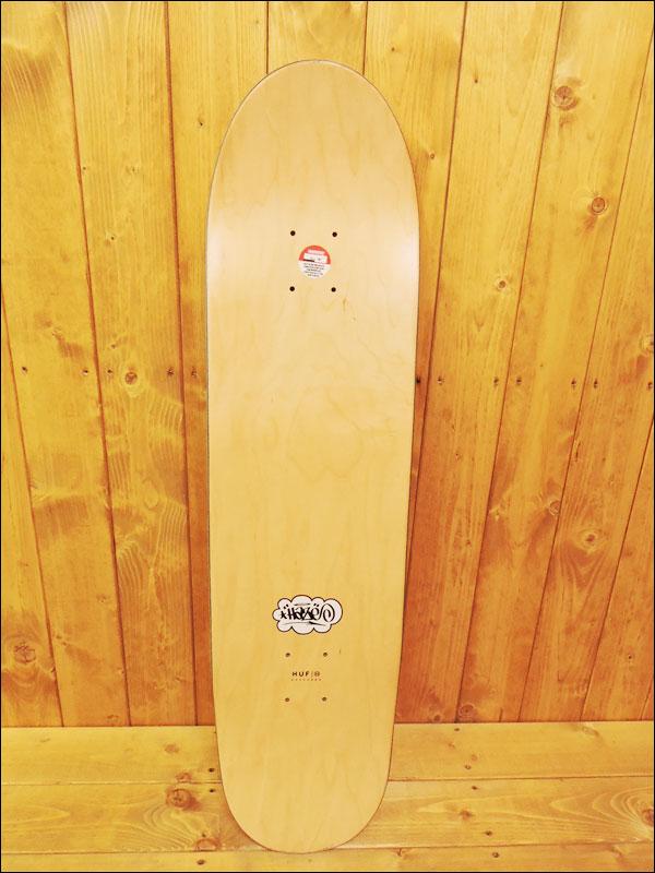 【中古】HUF × ERIC HAZE スケートデッキ