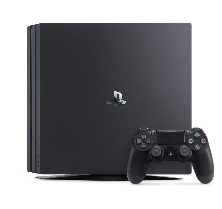 【未使用品】SONY PlayStation4 Proプレイステーション4 プロJet BlackジェットブラックCUH-7100BB01 (1TB)通常版 本体 保証書日付 店舗印共に未記入