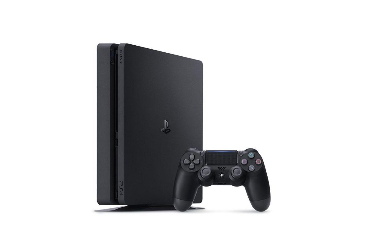 【中古】SONY PlayStation4プレイステーション4Jet BlackジェットブラックCUH-2100BB01 (1TB)通常版 本体 保証書日付 2018年06月06日