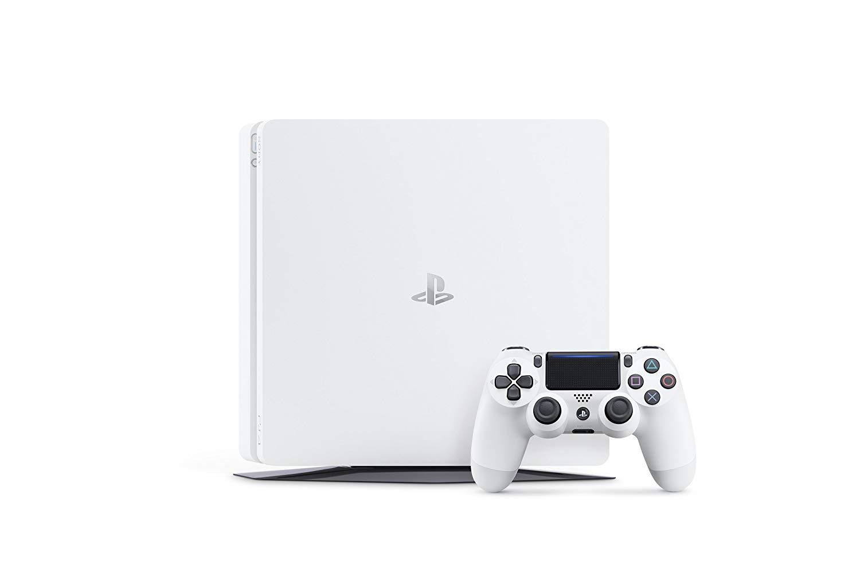 【未使用品】SONY PlayStation4プレイステーション4Glacier Whiteグレイシャー・ホワイトCUH-2200AB02 (500GB)通常版 本体 店舗印あり 保証書日 2018年10月11日