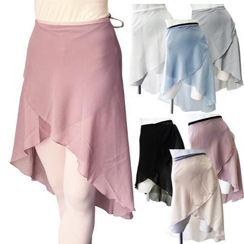 くすみカラーの巻きスカートで大人のコーディネート 長めの丈でも踊りやすいデザイン 新品 商品番号 mods003 バレエ スカート ロング巻きスカート単品 おとな メール便送料無料 ジュニア 大人 供え バレエ用品 バレエスカート