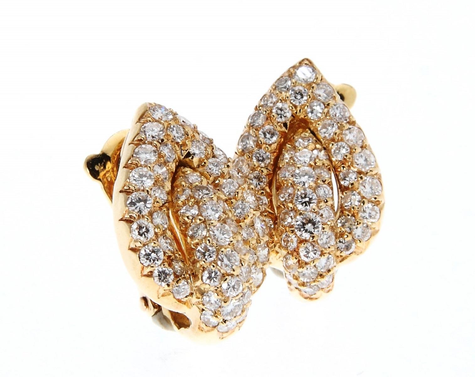 MAUBOUSSIN モーブッサン ダイヤモンド リング 指輪 K18YG イエローゴールド 送料無料 【トレジャースポット】【中古】