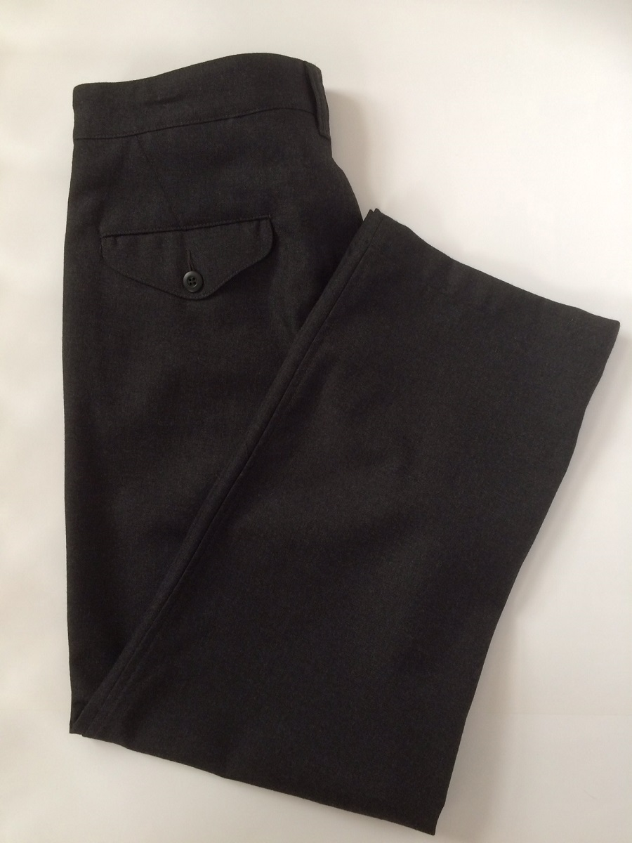 コムデギャルソン COMME des GARCONS メンズ ズボン パンツ グレー ウール #L 未使用展示品【トレジャースポット】【中古】
