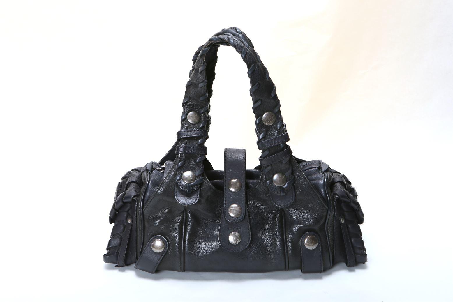 クロエ Chloe シルベラートミニ ハンドバッグ ブラック 黒 【トレジャースポット】【中古】