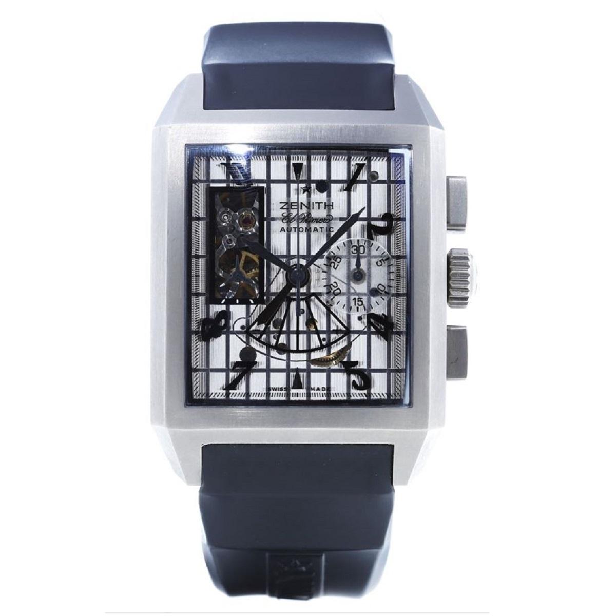 ゼニス ZENITH ポートロワイヤル 95 0540 4021 AT 自動巻き Ti チタニウム メンズ 腕時計 送料無料【トレジャースポット】【中古】