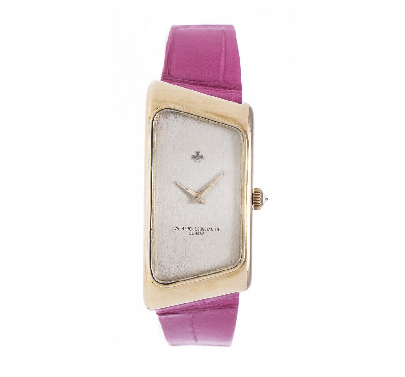 バシュロン コンスタンタン VACHERON CONSTANTIN YG イエローゴールド 腕時計  手巻き レディース 腕時計 アンティーク Antique 送料無料 トレジャースポット 中古