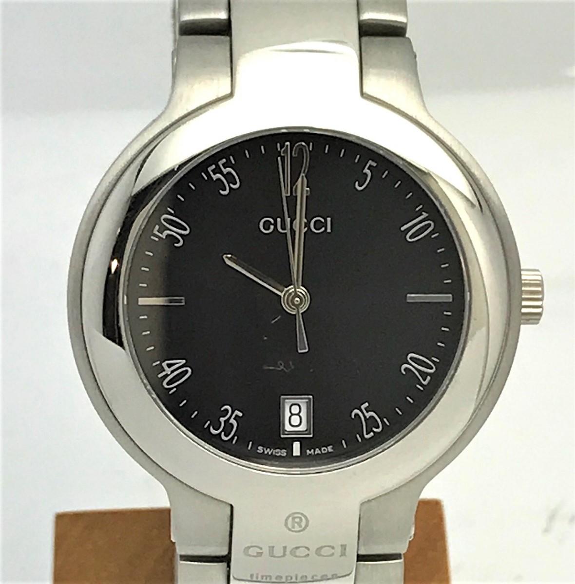 GUCCI グッチ 8900M Qz クォーツ メンズ 腕時計  SS ステンレス 【トレジャースポット】【中古】