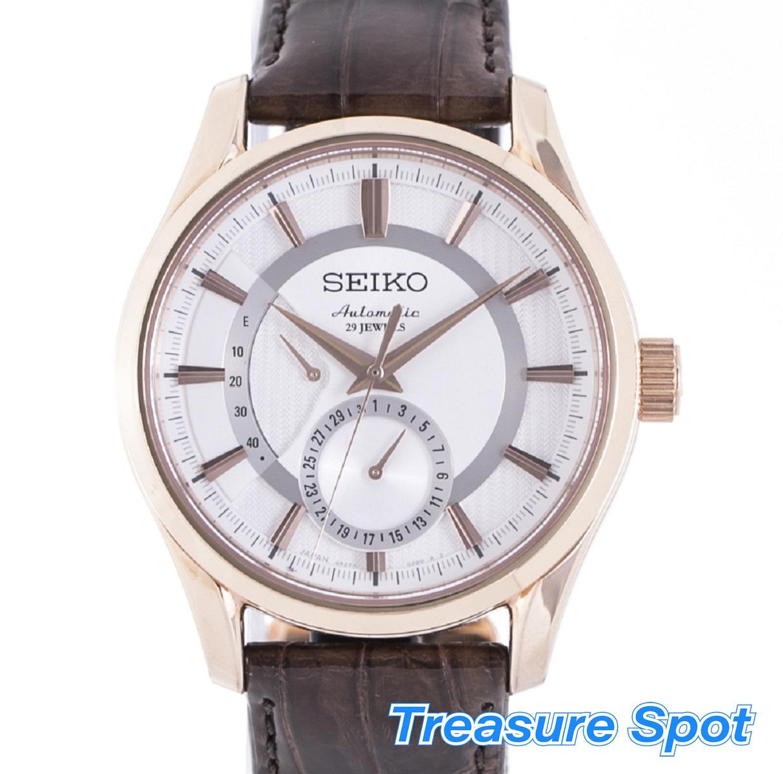 SEIKO セイコー プレサージュ 6R27-00B0 SARW004 GP AT 自動巻き メンズ 時計 【トレジャースポット】【中古】