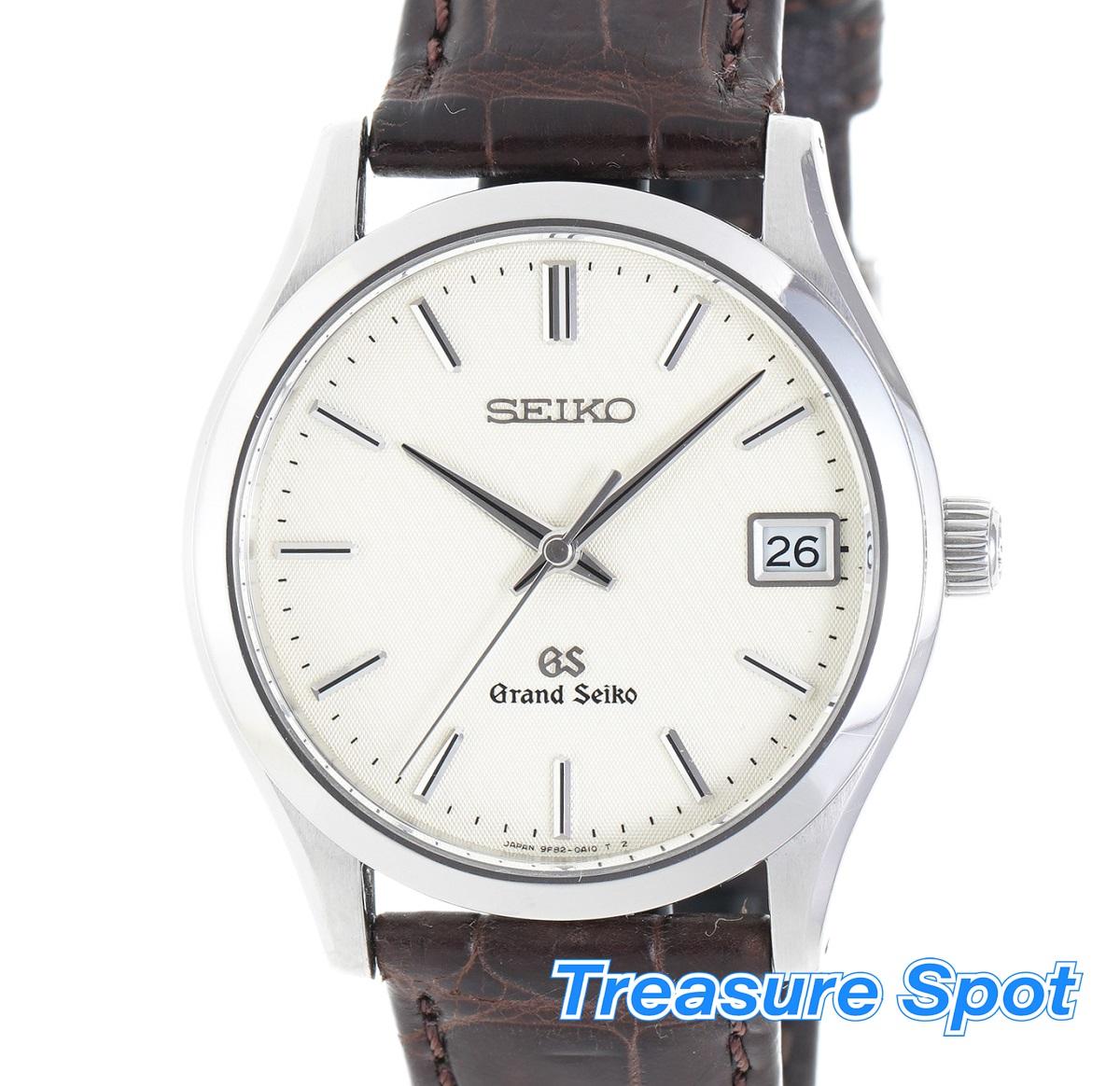 グランドセイコー SEIKO 9Sクォーツ 9F82-0A10 腕時計 Qz SS メンズ 腕時計 送料無料【トレジャースポット】【中古】