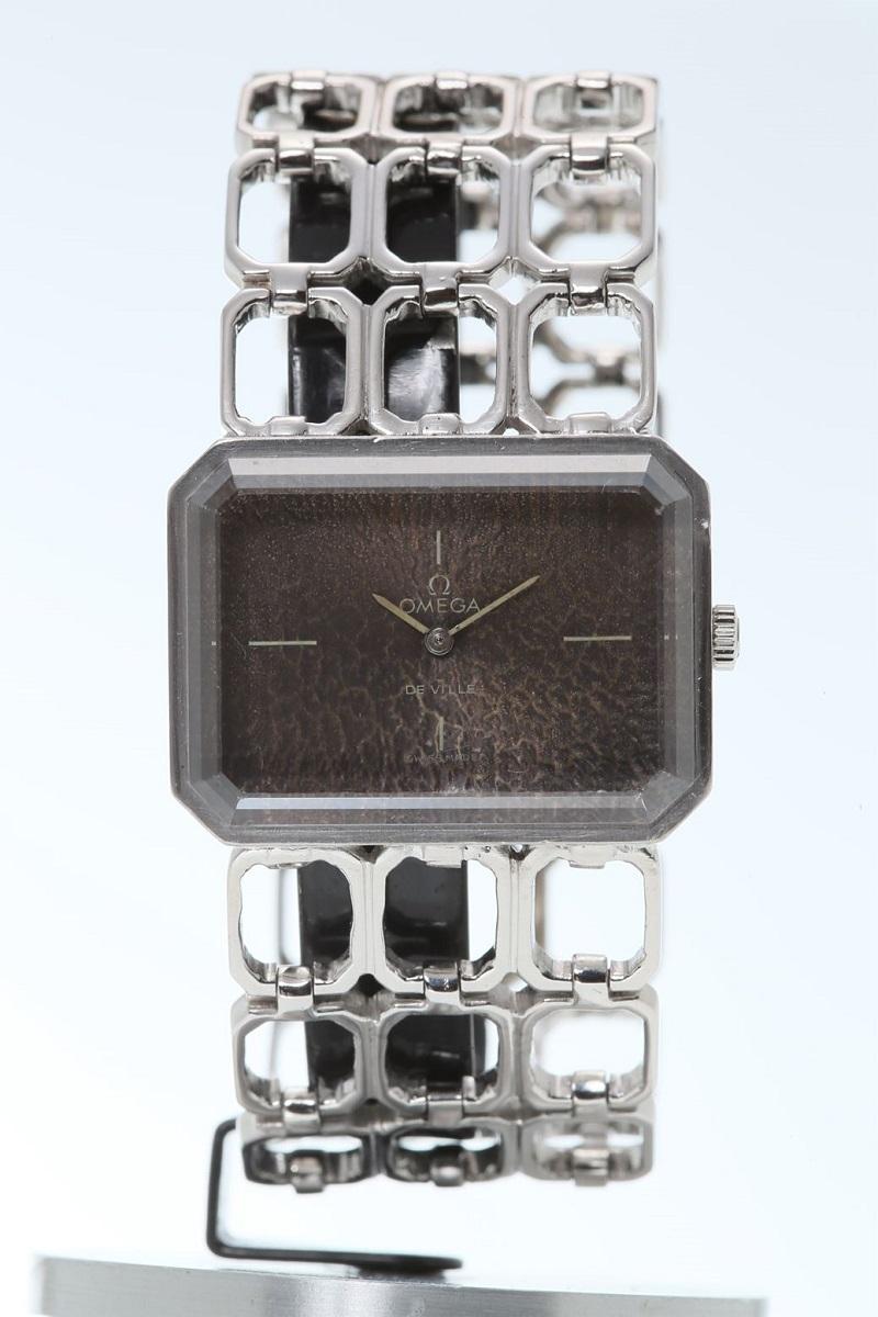 オメガ OMEGA レディース 腕時計 ホワイトゴールド WG ビンテージ アンティーク 手巻き 送料無料 【トレジャースポット】【中古】