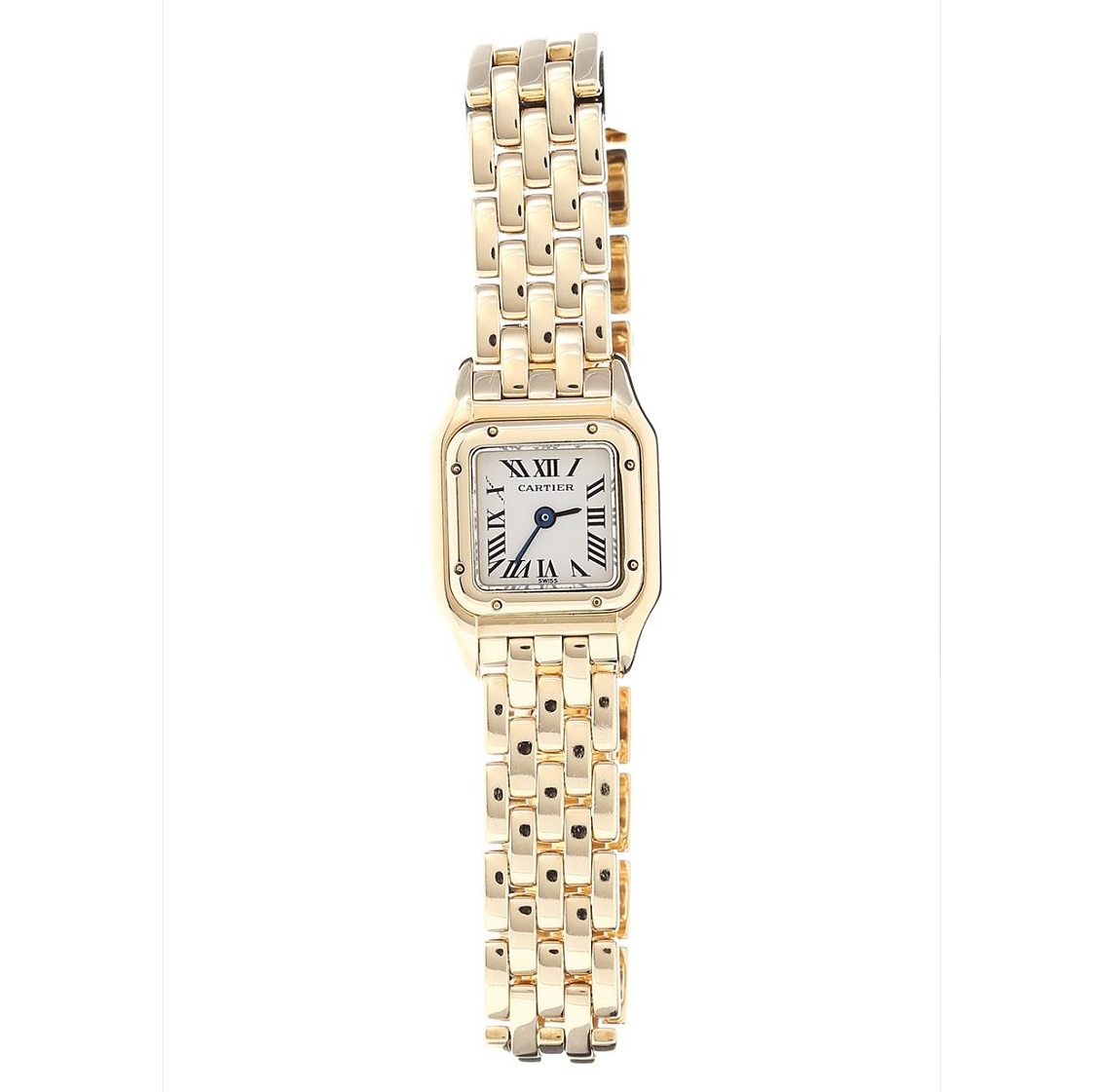 カルティエ Cartier ミニパンテール YG クォーツ レディース  腕時計 送料無料 【トレジャースポット】【中古】