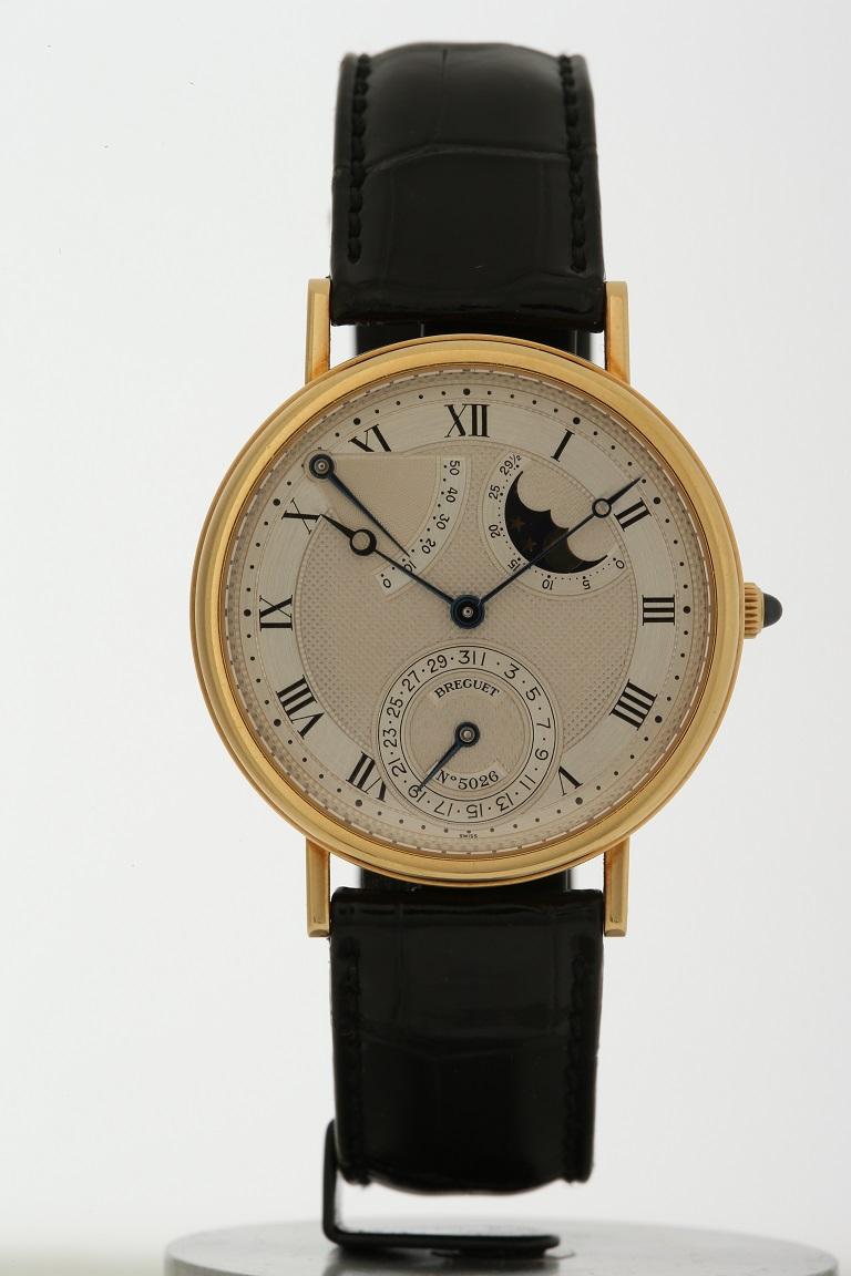 ブレゲ BREGUET クラシック イエローゴールド メンズ 腕時計 送料無料 【トレジャースポット】【中古】