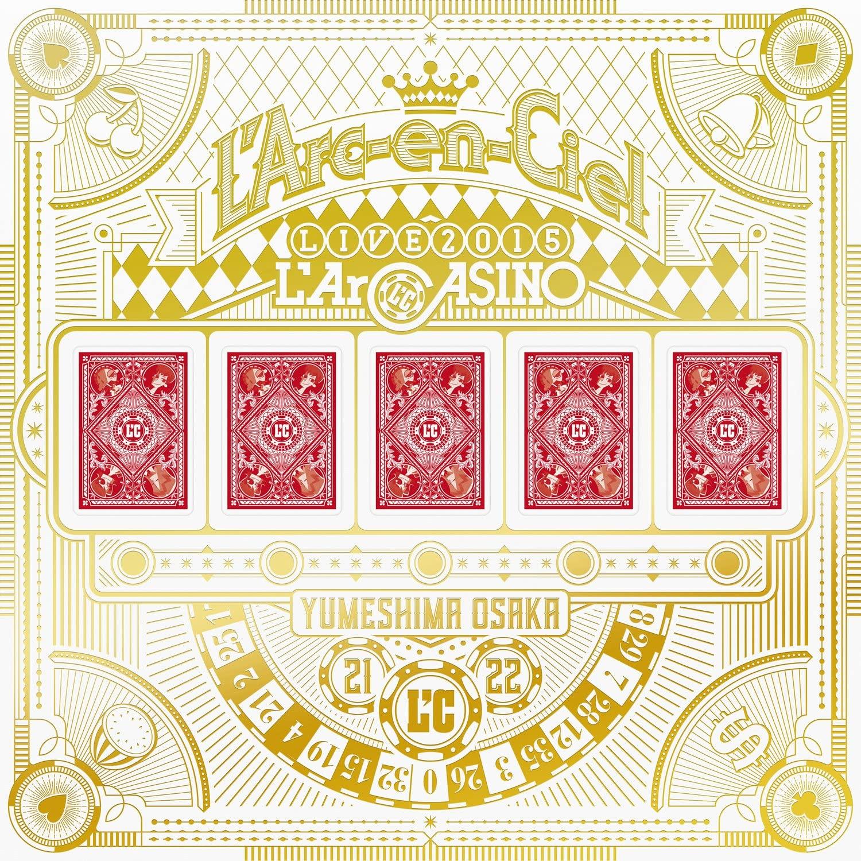 期間限定お試し価格 利益還元商品 新品 L'Arc-en-Ciel LIVE 2015 割引 完全生産限定盤 Blu-ray L'ArCASINO