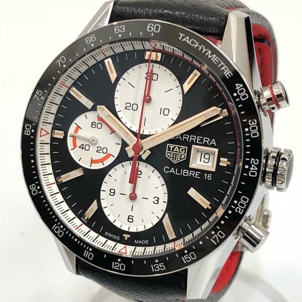 【中古】TAG HEUER タグ・ホイヤー カレラ キャリバー16 クロノグラフ腕時計 CV201AP.FC6429 自動巻き メンズ CARRERA CALIBRE16 【111618】