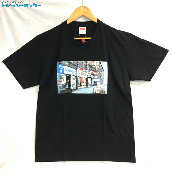 【中古】シュプリーム Tシャツ ハードウェア HARDWARE 18SS トップス 2018春夏モデル 半袖 ストリート Mサイズ ブラック メンズ Supreme 【072719】