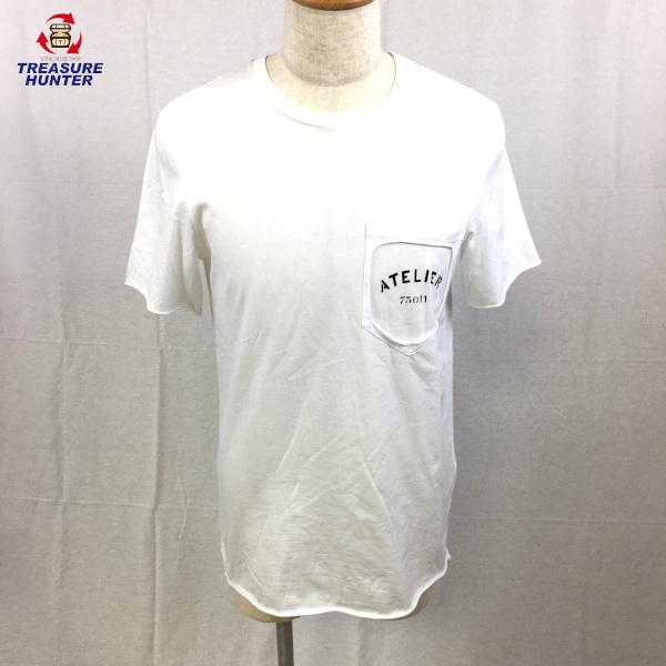 【中古】Maison Margiela メゾンマルジェラ 10 半袖Tシャツ S30GC0636 S22816 2018年 メンズ Mサイズ シャツ トップス 【101619】