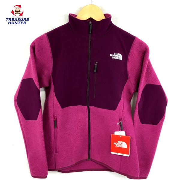 【中古】THE NORTH FAITH ノースフェイス ウールフリースジャケット NLW71507 ピンク レディース 【011720】