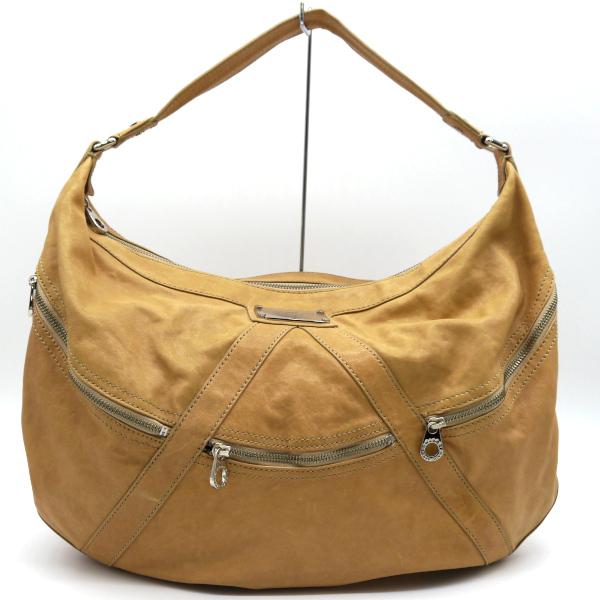 SALENEW大人気 オンラインショップ 中古 MARC JACOBS マークジェイコブス 合皮レザーショルダーバッグ 鞄 ベージュ レディース 041520