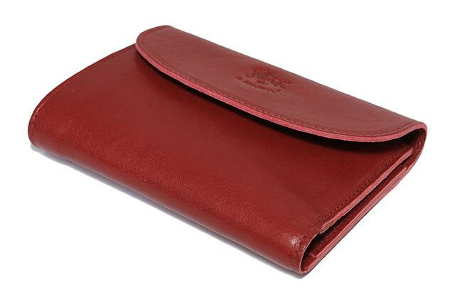 6f0eb197804b ブランド, IL BISONTE(イルビゾンテ). 品目, 財布(折り財布). 型番, C0972 P 245. カラー, RUBY RED(ルビー レッド)
