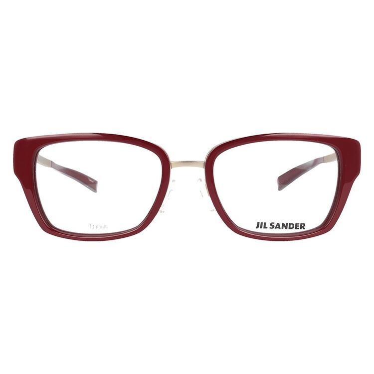 JIL SANDER メガネフレーム おしゃれ老眼鏡 PC眼鏡 スマホめがね 伊達メガネ リーディンググラス 眼精疲労 ジル・サンダー 伊達 眼鏡 J2004 B 54 レディース ファッションメガネBCWxrdoe