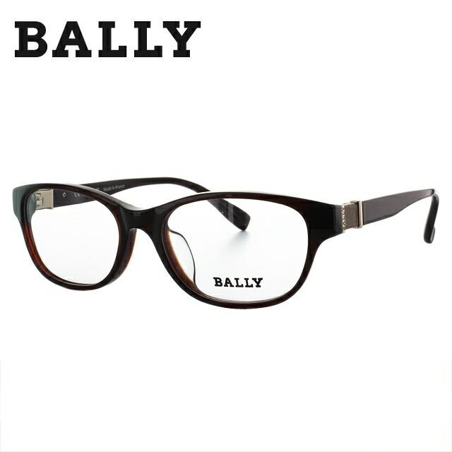 【マラソン期間ポイント10倍】バリー メガネ フレーム BALLY 伊達 眼鏡 BY1007J 23 52 メンズ レディース ブランドメガネ ダテメガネ ファッションメガネ 伊達レンズ無料(度なし・UVカット) ギフト