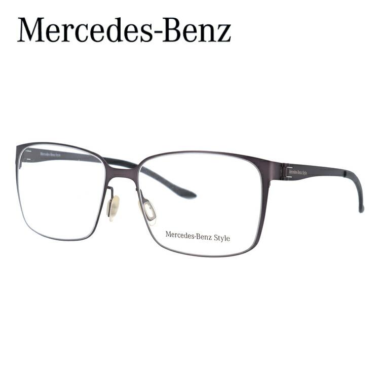 【マラソン期間ポイント10倍】メルセデスベンツ スタイル メガネ Mercedes-Benz Style 伊達 眼鏡 M6037-A 54 国内正規品 メンズ ブランドメガネ ダテメガネ ファッションメガネ 伊達レンズ無料(度なし・UVカット) ギフト