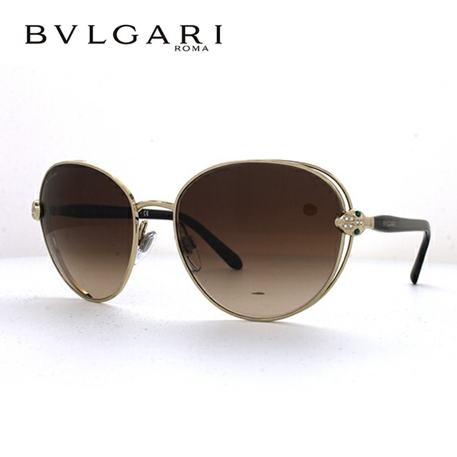 ブルガリ サングラス BVLGARI BV6087B 278/13 57サイズ セルペンティ 国内正規品 ラウンド メンズ レディース