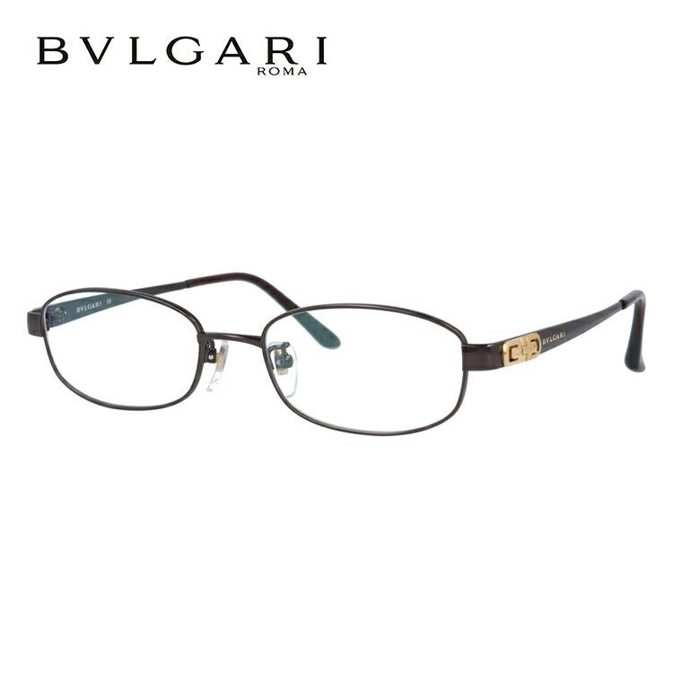 ブルガリ メガネ BVLGARI 眼鏡 BV2076TK 4019 52サイズ ダークブラウン メンズ レディース ブランドメガネ 伊達メガネ ダテメガネ 紫外線対策【伊達レンズ無料(度なし・UVカット)】【日本製】