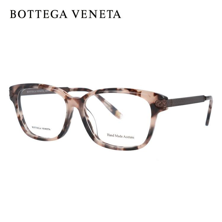 ボッテガヴェネタ メガネフレーム 伊達メガネ アジアンフィット BOTTEGA VENETA BV295F CRZ 53サイズ スクエア ユニセックス メンズ レディース