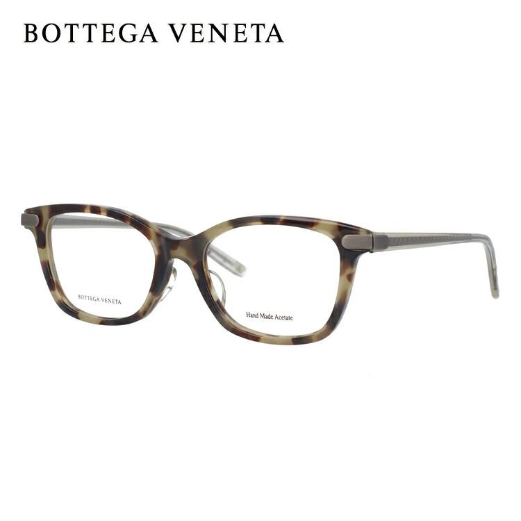 ボッテガヴェネタ メガネフレーム 伊達メガネ アジアンフィット BOTTEGA VENETA BV6017J 5EH 51サイズ スクエア ユニセックス メンズ レディース