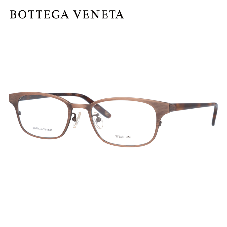 ボッテガヴェネタ メガネフレーム 伊達メガネ BOTTEGA VENETA BV6508J 5HB 52サイズ スクエア ユニセックス メンズ レディース