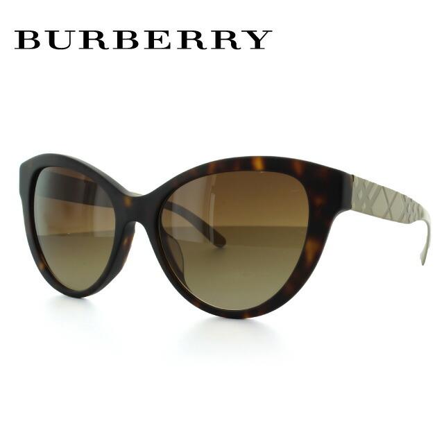 バーバリー BURBERRY サングラス 国内正規品 BE4220F 353613(B4220F) 56 マットハバナ/ゴールド アジアンフィット レディース UVカット