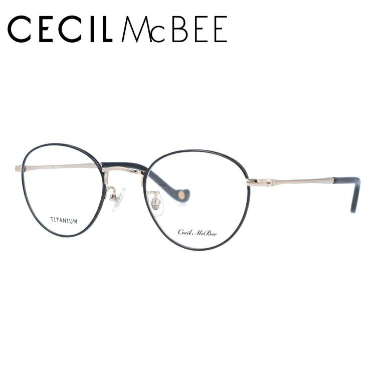 セシルマクビー メガネフレーム 伊達メガネ CECIL McBEE CMF 3022-5 49サイズ ボストン レディース