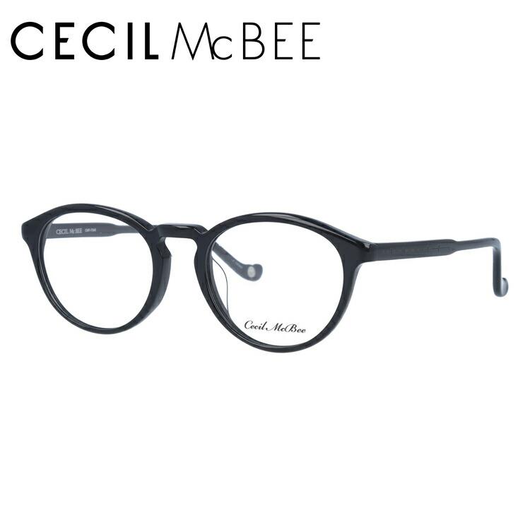 セシルマクビー メガネフレーム 伊達メガネ アジアンフィット CECIL McBEE CMF 7048-1 48サイズ ボストン レディース
