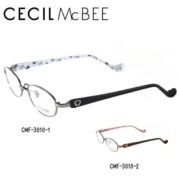 セシルマクビー メガネ フレーム CECIL McBEE 伊達 眼鏡 CMF3010 全2カラー レディース ブランドメガネ ダテメガネ ファッションメガネ 伊達レンズ無料(度なし・UVカット)