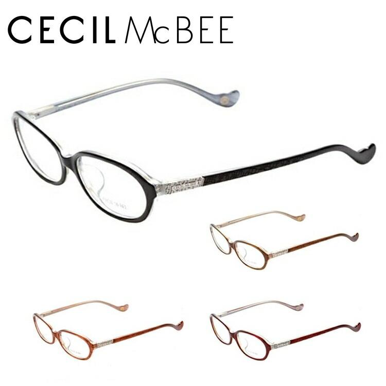 セシルマクビー メガネ フレーム CECIL McBEE 伊達 眼鏡 CMF7021 全4カラー レディース ブランドメガネ ダテメガネ ファッションメガネ 伊達レンズ無料(度なし・UVカット)