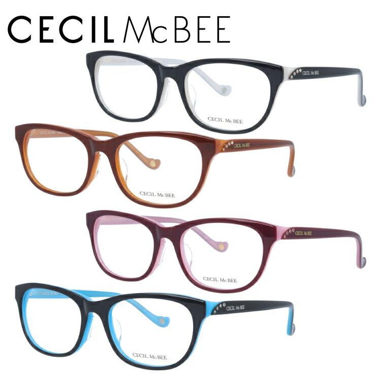 セシルマクビー メガネ フレーム CECIL McBEE 伊達 眼鏡 CMF7030 全4カラー レディース ブランドメガネ ダテメガネ ファッションメガネ 伊達レンズ無料(度なし・UVカット)