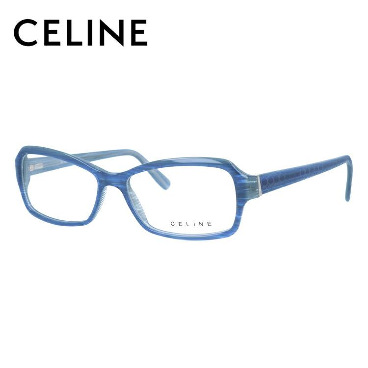 セリーヌ メガネ フレーム CELINE 伊達 眼鏡 VC1579 54 06RB レディース ブランドメガネ ダテメガネ ファッションメガネ 伊達レンズ無料(度なし・UVカット)