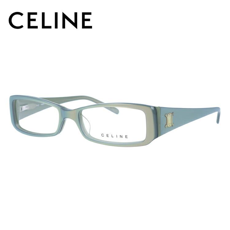セリーヌ メガネ フレーム CELINE 伊達 眼鏡 VC1640C 52 09QH レディース ブランドメガネ ダテメガネ ファッションメガネ 伊達レンズ無料(度なし・UVカット)