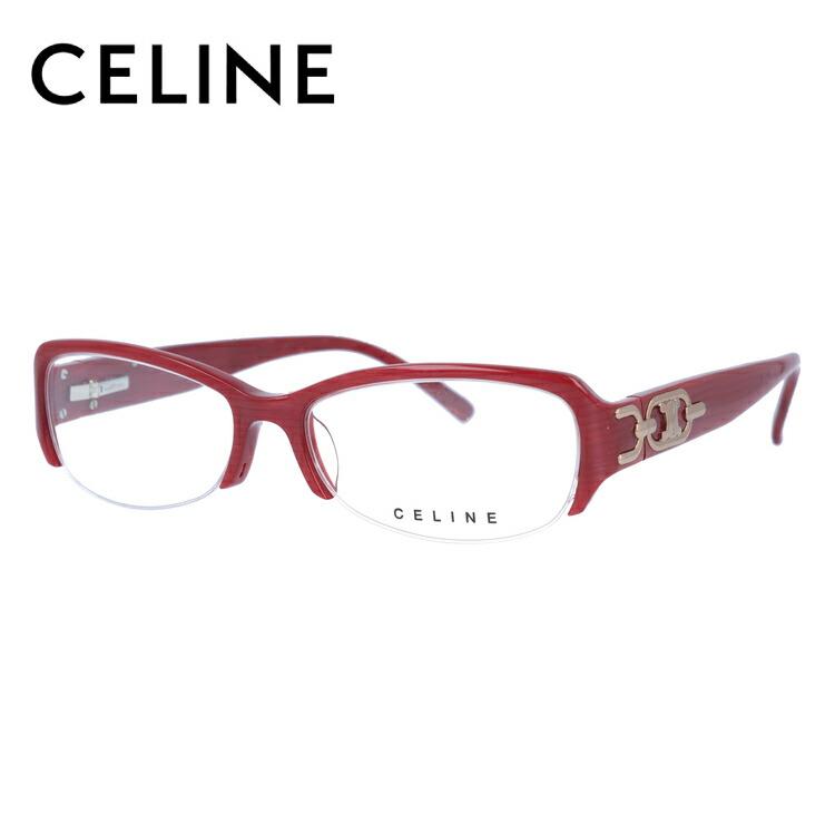 セリーヌ メガネ フレーム CELINE 伊達 眼鏡 VC1706M 52 07P3 レディース ブランドメガネ ダテメガネ ファッションメガネ 伊達レンズ無料(度なし・UVカット)
