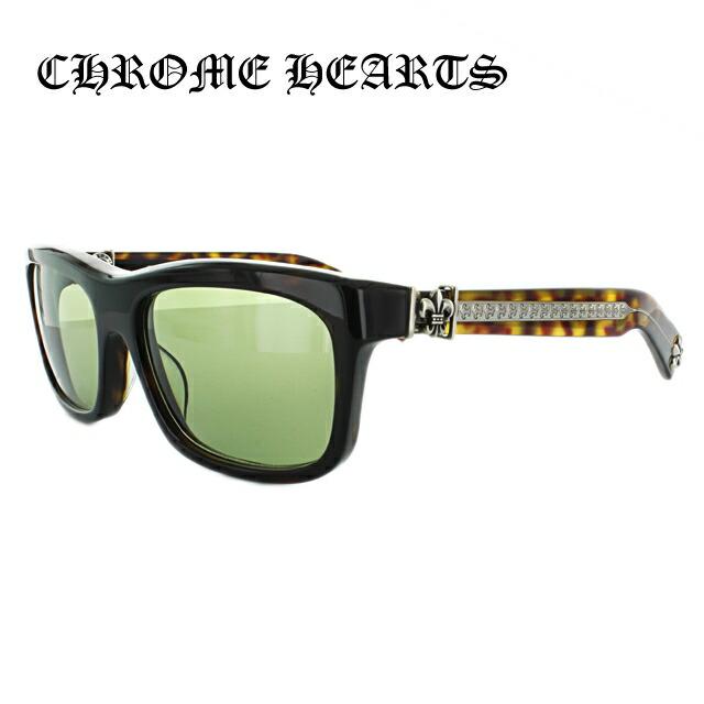 クロムハーツ サングラス Chrome Hearts MY DIXADRYLL Dark Tortise/Green メンズ レディース UVカット メガネ ブランド