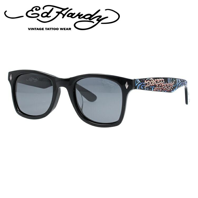 エドハーディー サングラス EdHardy ウェーブ WAVE ブラック メンズ レディース UVカット メガネ ブランド