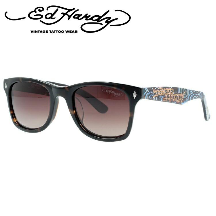 エドハーディー サングラス EdHardy ウェーブ WAVE トータス/ブラウングラデーション メンズ レディース UVカット メガネ ブランド