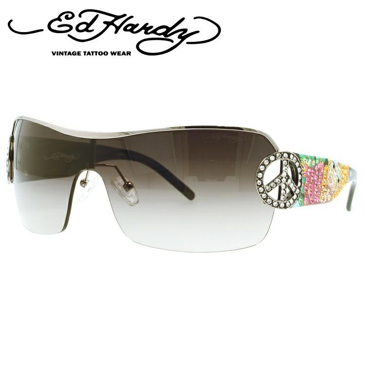 エドハーディー サングラス EdHardy ピン アップ2 PIN UP2 GUN メンズ レディース UVカット メガネ ブランド