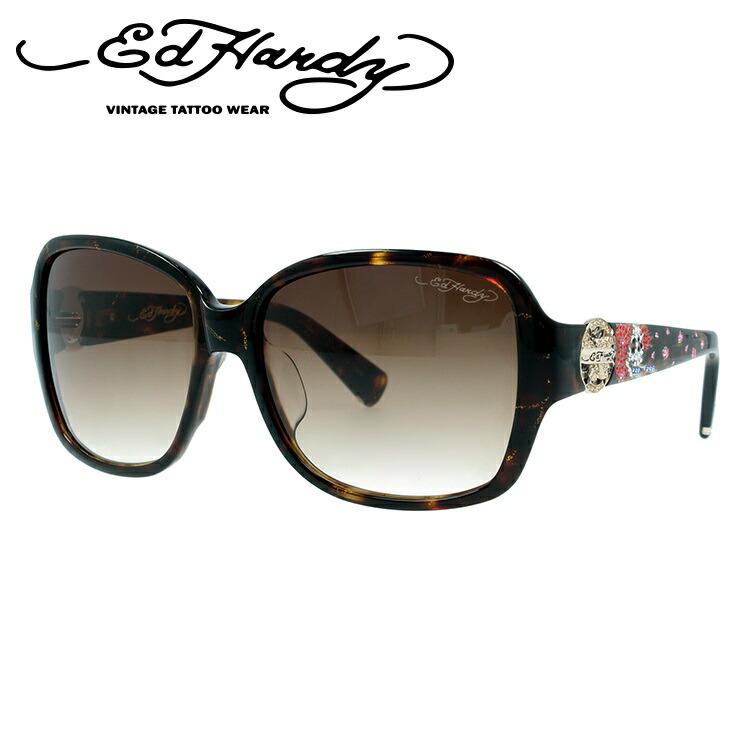 エドハーディー サングラス EdHardy ビューティフルゴースト BEAUTIFUL GHOST 2 TORTOISE メンズ レディース UVカット メガネ ブランド