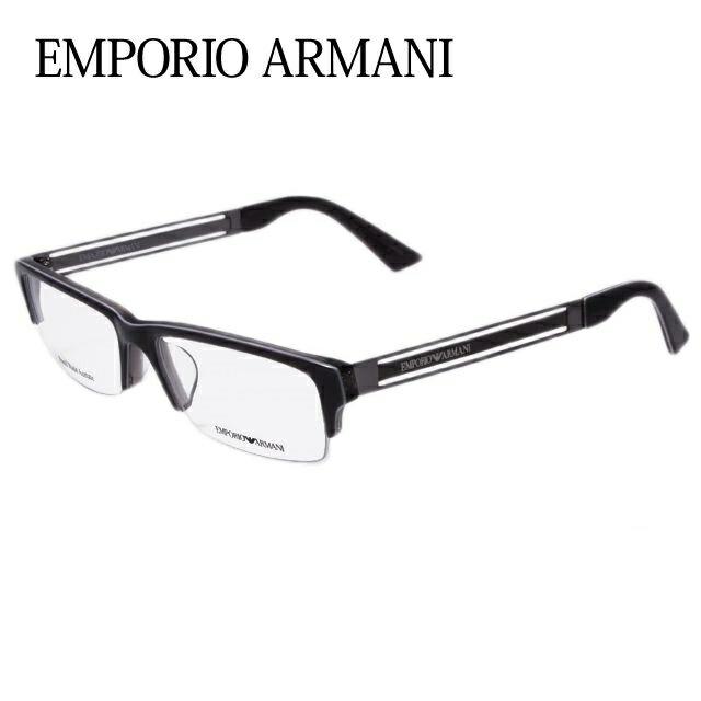 エンポリオアルマーニ メガネ フレーム EMPORIO ARMANI 伊達 眼鏡 EA1343J 675 54 メンズ レディース ブランドメガネ ダテメガネ ファッションメガネ 伊達レンズ無料(度なし・UVカット) ギフト