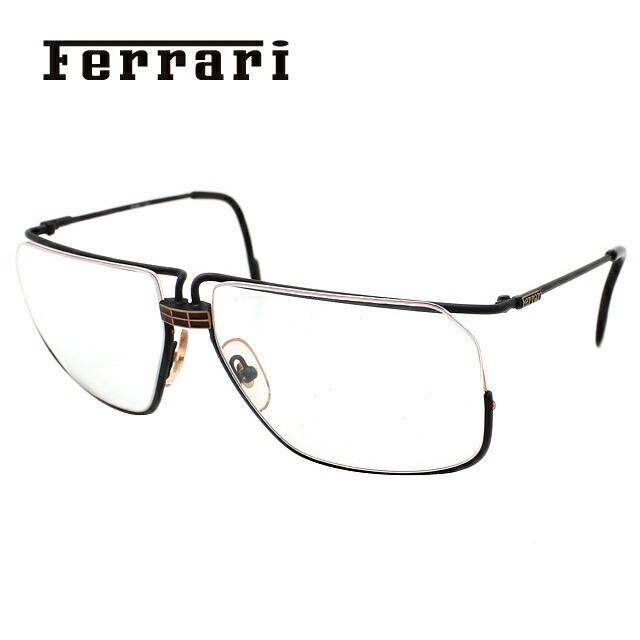 フェラーリ メガネ フレーム Ferrari 伊達 眼鏡 F18 586 59 メンズ ブランドメガネ ダテメガネ ファッションメガネ 伊達レンズ無料(度なし・UVカット)