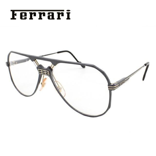 フェラーリ メガネ フレーム Ferrari 伊達 眼鏡 F23 701 59 メンズ ブランドメガネ ダテメガネ ファッションメガネ 伊達レンズ無料(度なし・UVカット)
