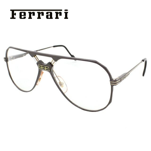 フェラーリ メガネ フレーム Ferrari 伊達 眼鏡 F23 700 59 メンズ ブランドメガネ ダテメガネ ファッションメガネ 伊達レンズ無料(度なし・UVカット)
